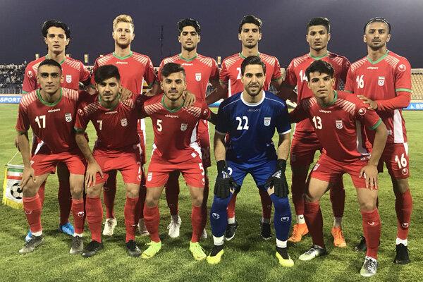 تیم فوتبال امید ایران برابر ازبکستان شکست خورد