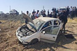 واژگونی پژو در بروجرد یک کشته و یک زخمی برجای گذاشت