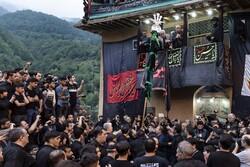 İran'da Hz. İmam Hüseyin (a.s) için geleneksel matem töreni
