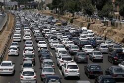احتمال افزایش ترافیک در مسیر برگشت زائران از خسروی