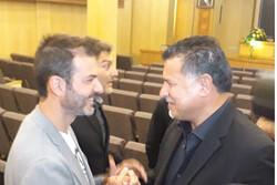 دیدار سرمربی استقلال با آقای گل فوتبال جهان