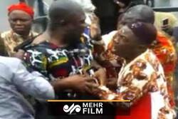 ضرب و شتم سیاستمدار نیجریهای در آلمان