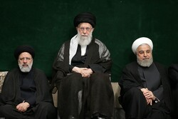 Ayatollah Khamenei attends 2nd Muharram mourning ceremony of 2019