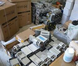 کشف ۱۳۰ دستگاه استخراج ارز دیجیتال در قوچان