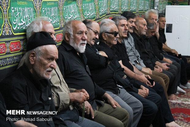 مراسم اطعام عزاداران حسینی،روستای بیابانک سمنان