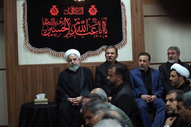 مراسم العزاء الحسيني في مكتب رئاسة الجمهورية