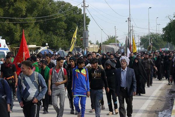 ۹۸۰۰ بوشهری برای پیادهروی اربعین نامنویسی کردند
