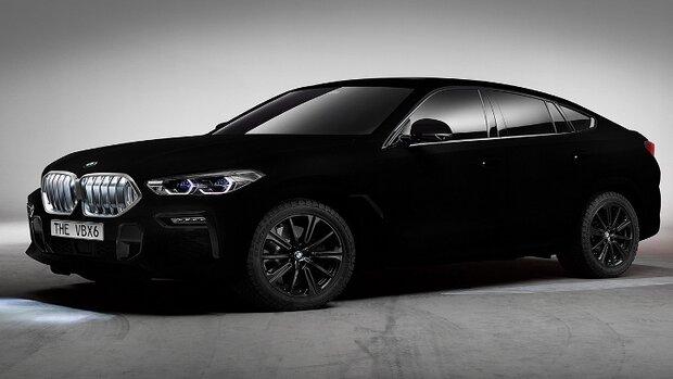 سیاه ترین خودروی جهان با فناوری نانو ساخته شد