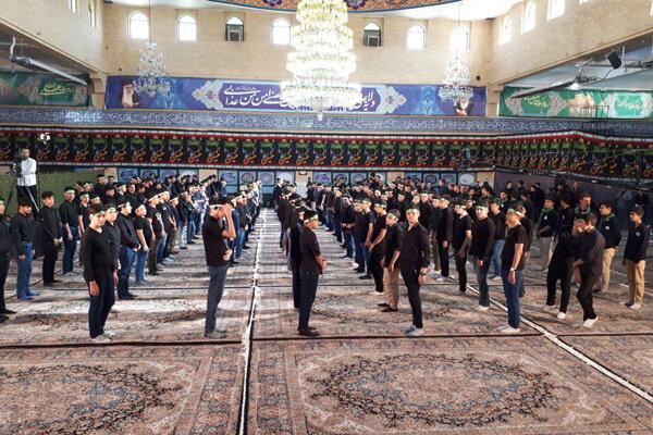 دانش آموزان استان قزوین در عزای حضرت قاسم(ع) به سوگ نشستند