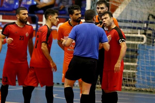 یک شکست و یک تساوی حاصل کار خوزستانیها در لیگ برتر فوتسال