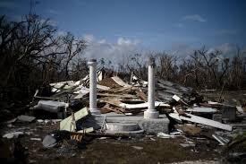 اثار إعصار دوريان على جزر الباهاما