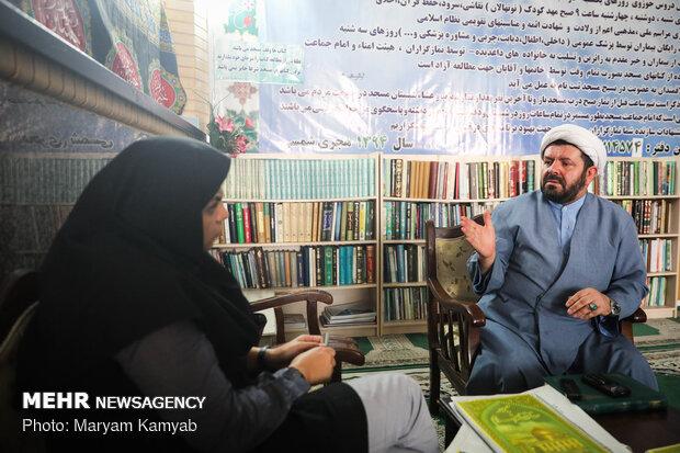 گفتگو با حجت الاسلام واشقانی فراهانی
