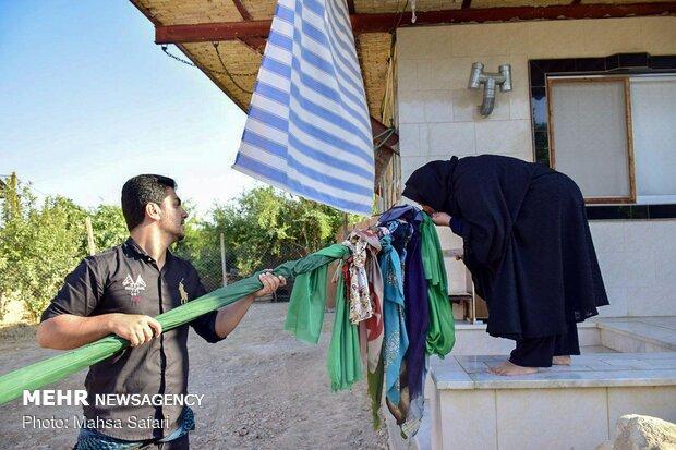 آئین سنتی « علم گردشی» در روستای کفشگیری