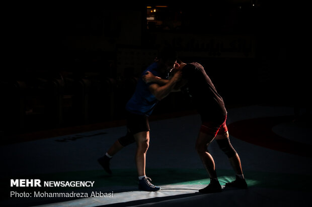 Sports min. visits natl. Freestyle and Greco Roman wrestling teams