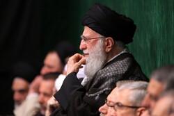Ayatollah Khamenei attends Tasu'a night mourning ceremony