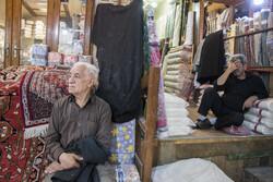 عزاداری محرم در تیمچه پارچه فروشان بازار تبریز