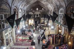 تبریز کے بازار میں عزاداری