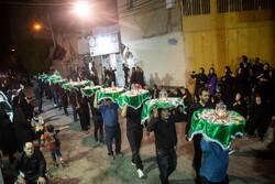 İran'da Hz. İmam Hüseyin (a.s) için geleneksel tören
