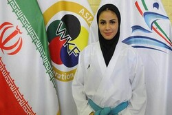 Iranian girl wins gold at 2019 Karate 1-Premier League