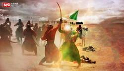 شهیدی در کربلا  که بدون زره به میدان نبرد رفت