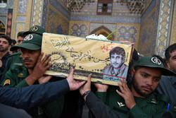 تشییع پیکر شهید مفقودالاثر خراسانی بعد از ۳۷ سال