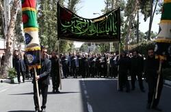 اليوم الثاني من مراسم العزاء لذكرى استشهاد الامام الحسين (ع) في مكتب الرئيس الإيراني