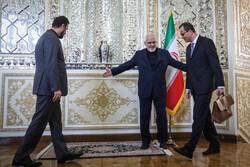 ظريف يستقبل الرئيس المؤقت للمنظمة الدولية للطاقة الذرية