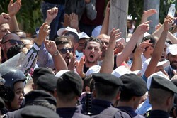 استئناف المظاهرات ضد الغاز الإسرائيلي في الأردن
