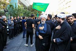 سازمان تبلیغات اسلامی کے حسینی عزاداروں کا جلوس
