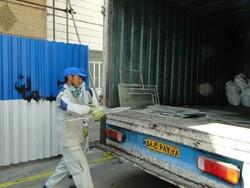جمع آوری ۲۱ تن ضایعات شیشه ساختمانی در منطقه ۵