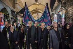 تہران کے بازار میں کربلا والوں کی یاد میں عزاداری