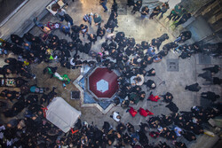 برگزاری تعزیه سیار در بازار اراک