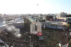 عزاداروں کا یوم عباس (ع) کی مناسبت سے عظيم الشان اجتماع