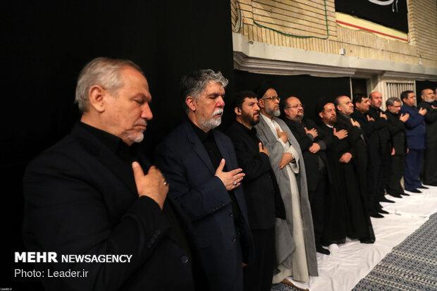 Leader attends 2nd Muharram mourning night