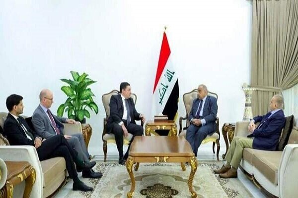 Iraqi PM discusses Iranian nuclear case with European ambassadors