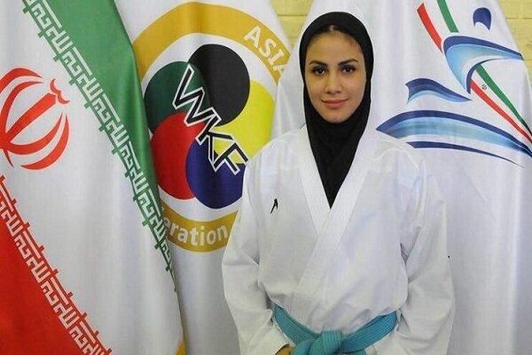 Iranian girl wins gold at 2019 Karate 1-Premier League
