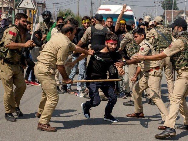 کشمیر میں محرم الحرام کے جلوس پر فائرنگ سے متعدد عزادار زخمی