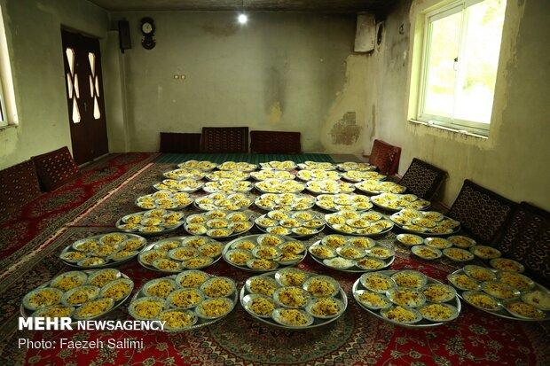 İran'ın kuzeyinde geleneksel Muharrem matemi