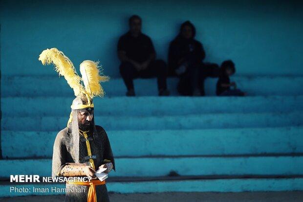 اجرای تعزیه در روستای تعزیه دار سلطانیه