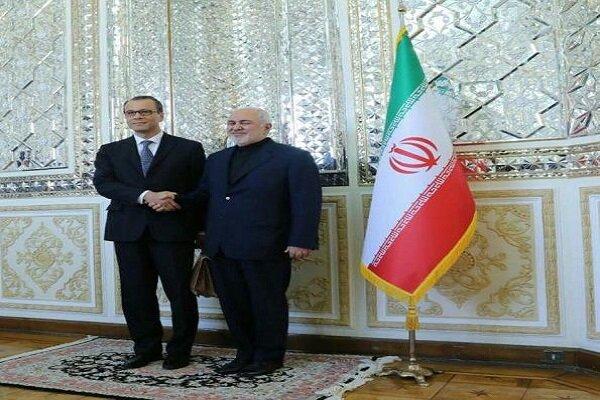 Zarif Tahran'da UAEA geçici başkanı ile görüştü