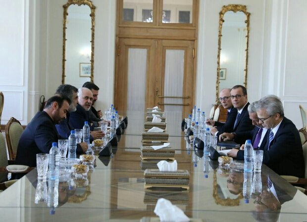 IAEA Feruta meets Zarif in Tehran