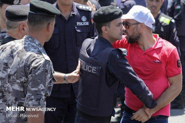 اعتراض معلمان اردنی