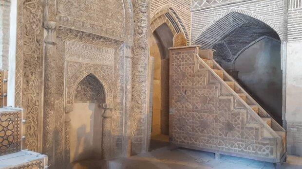 منبرهای مسجد جامع اصفهان ثبت ملی میشود