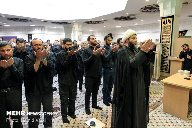 دسته عزاداران حسینی(ع) سازمان تبلیغات اسلامی