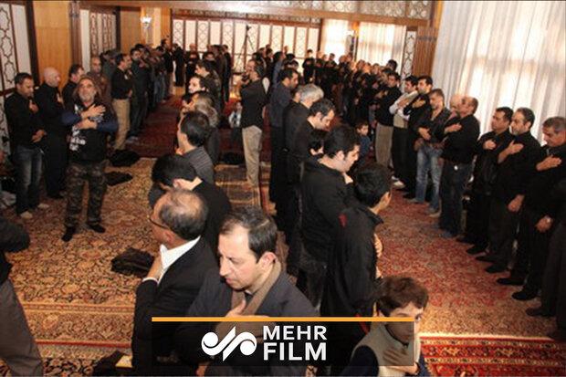 ٹوکیومیں ایرانی سفارتخانہ میں نویں محرم کی شب میں عزاداری