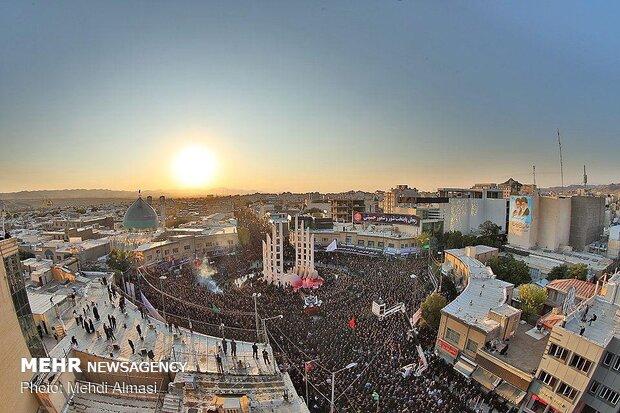 تجمع عزاداران حسینی در «یوم العباس»