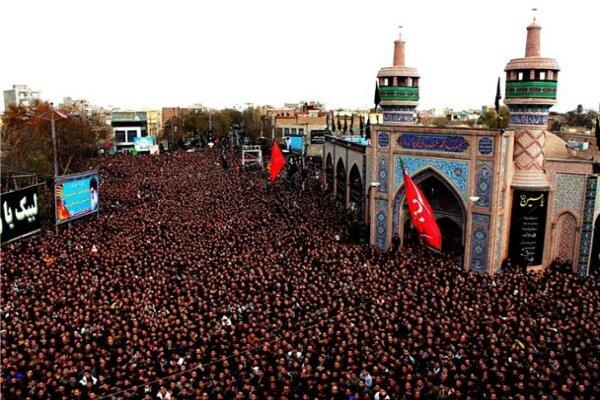 اوج شکوه عزاداری اردبیلیها در تاسوعای حسینی/تجمعی به وسعت یک شهر
