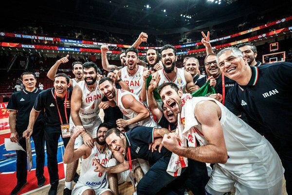 بسکتبال ایران در رده بیست و سوم/ تبریک سایت المپیک به بلندقامتان