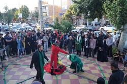 اجرای نمایش عاشورایی در قروه/ «انتخاب» میان حق و باطل