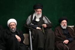 """İslam Devrimi Lideri'nin katılımıyla """"Tasua gecesi"""" merasimi"""